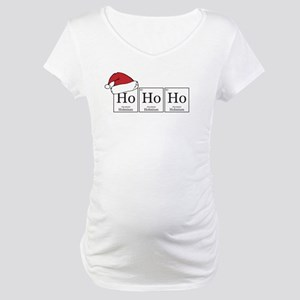 Ho Ho Ho [Chemical Elements] Maternity T-Shirt